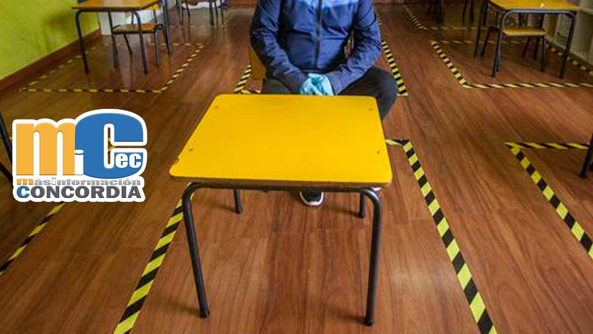 COE nacional autoriza clases presenciales.