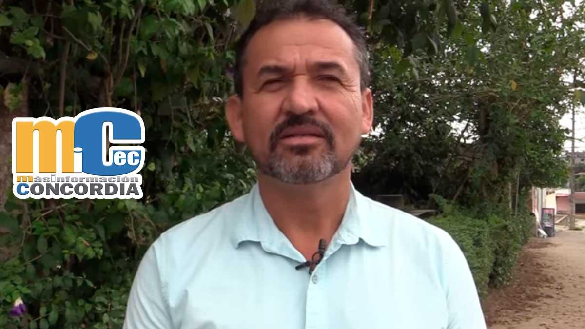 Concejal Washington Garcia